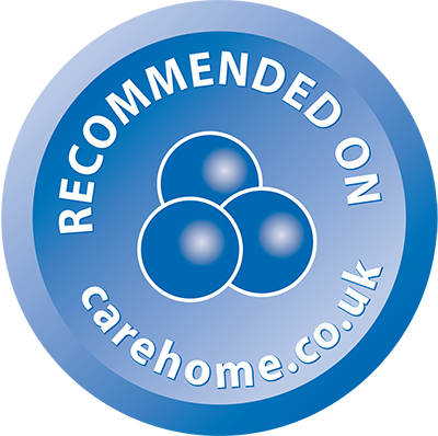 Reccommended on Carehome.co.uk